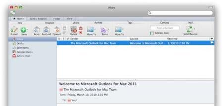 Primeras imágenes de Office 2011 para Mac