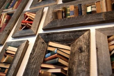 Recicladecoración: viejos libros convertidos en obras de arte