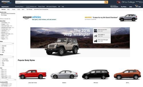 ¿Comprarías tu coche a través de Amazon? Todo apunta a que pronto podrás hacerlo