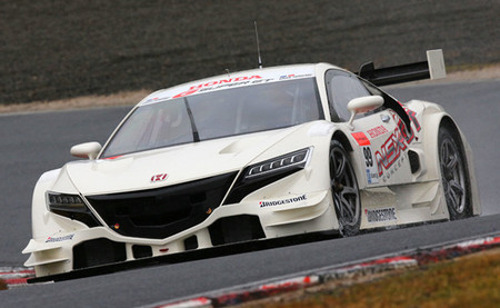 Vitantonio Liuzzi ha probado el nuevo Honda NSX-GT del Super GT en Okayama