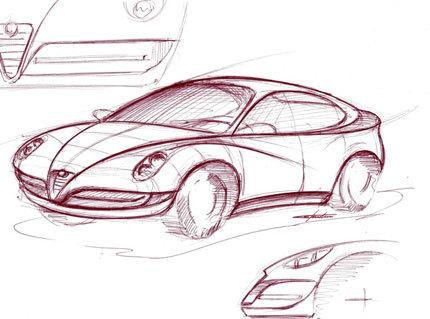 El Alfa Romeo Junior y el Alfa 149 vistos por Paolo Martin