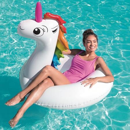 El flotador de las influencers (si, ese del unicornio) está rebajado a sólo 6,50 euros en Amazon