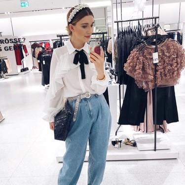 Zara tiene los slouchy jeans de la temporada, dispuestos a coronarse como los vaqueros tendencia
