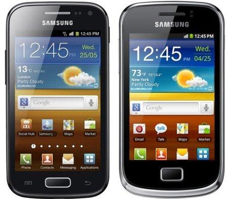 Samsung Galaxy Ace 2 y  Galaxy Mini 2 ,se hacen oficiales