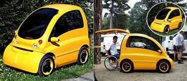 Vehículo para sillas de ruedas