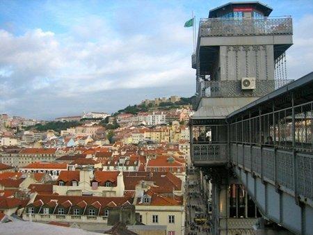 Descubriendo Lisboa El Elevador De Santa Justa