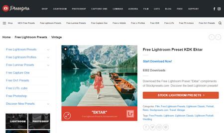 400 presets gratis Lightroom