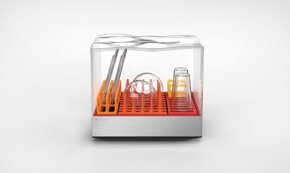 Un minilavavajillas que promete lavar tus platos en solo diez minutos