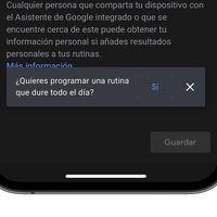 Cómo crear rutinas en Google Home que se repiten durante durante varios días a la semana