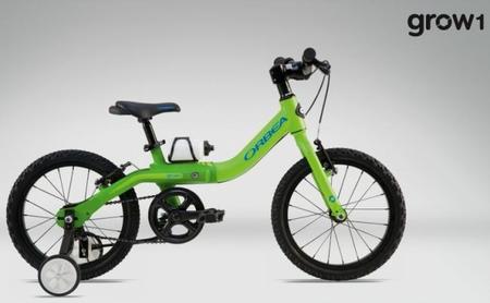 Grow, una bicicleta que crece con el niño