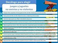 Juguetes no sexistas y no violentos: para contribuir al desarrollo de actitudes de cooperación y respeto a las diferencias