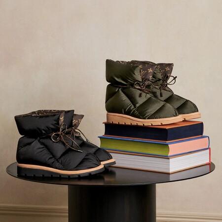 Louis Vuitton Botin Plano Pillow Zapatos Ak5q1any02 Pm1 Closeup View