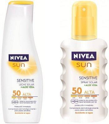 Nivea lanza protector solar especial para pieles sensibles