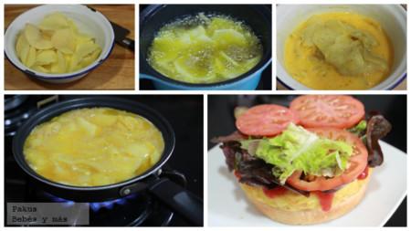 Tortilla Burger Bebes Ymas