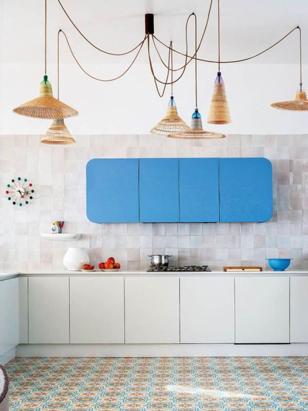 Muebles Azules Cocina 9