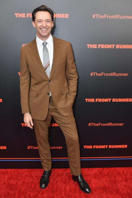 Hugh Jackman Lleva A La Alfombra Roja El Perfecto Look De Oficina Para El Otono 2
