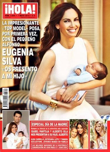 Eugenia Silva, Chabelita... Todas presumen de retoños en Hola