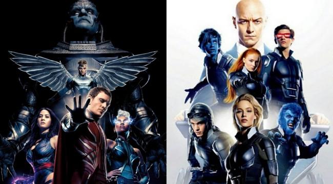Los dos bandos de X-Men