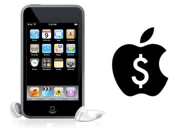 Actualización del iPod Touch de pago