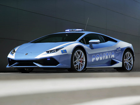 Lamborghini Huracan Lp 610 4 Polizia