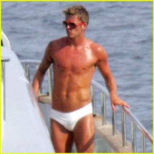 David Beckham para Armani Underwear