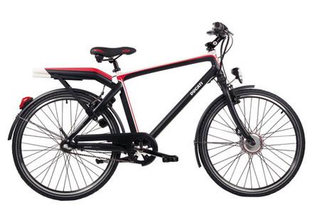 Ducati lanza una bicicleta eléctrica