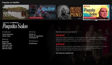 Netflix eliminará todas las reseñas de series y películas de su plataforma