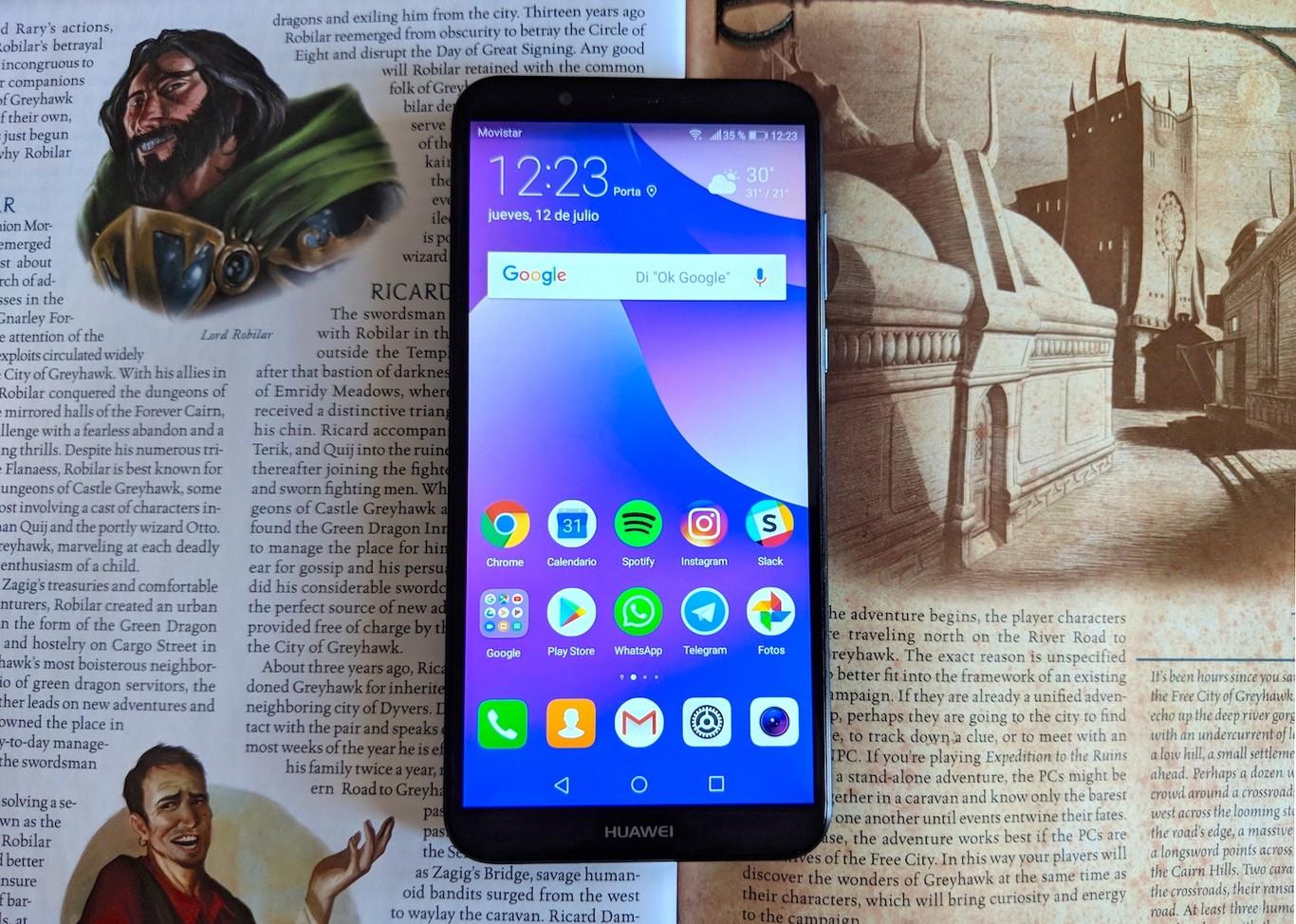 a66b77f917c Huawei Y7 Prime 2018, análisis: review con características, precio y  especificaciones