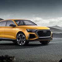 Audi presenta la evolución deportiva de su buque insignia con el Audi Q8 sport Concept, un SUV de lujo de 476 CV