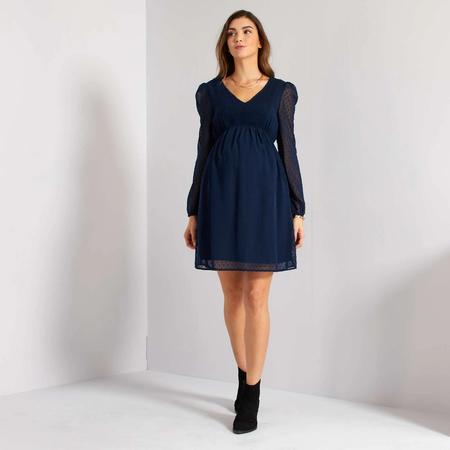 Vestido Premama Azul Premama Xp874 1 Zc1