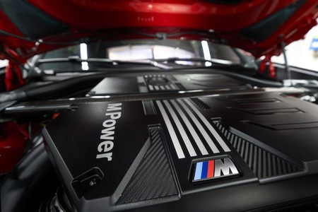 BMW X4 M Competition motor