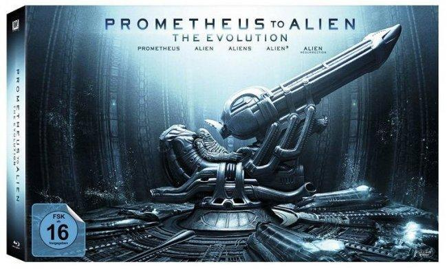 Pack Prometheus 'La Evolución'