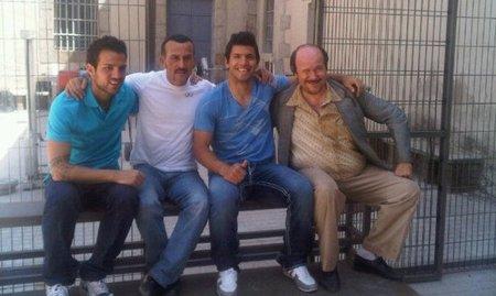 Kun Agüero y Cesc Fábregas, del fútbol a 'Torrente 4'