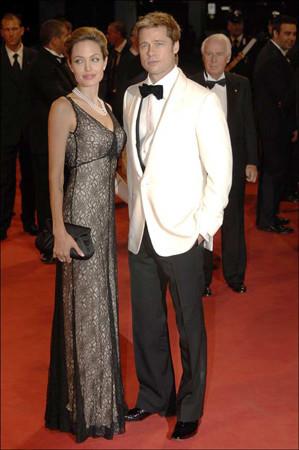 Brad Pitt y Angelina Jolie en el Festival de Venecia