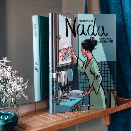 """Claudio Stassi, autor de 'Nada': """"este libro lanza un guiño a la visión progresista de la época republicana y que iba a morir a través de la dictadura"""""""