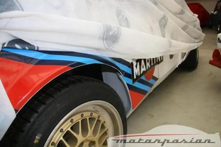 Lancia Delta S4 tapado