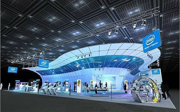 INtel en Las vegas CES 2012
