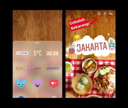 Instagramstories Jakartastickers