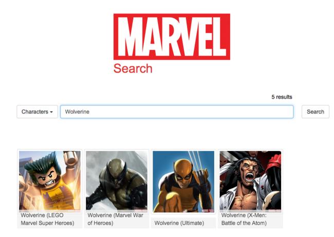 Marvel buscador