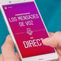 Instagram añade mensajes de voz en Direct: así funcionan