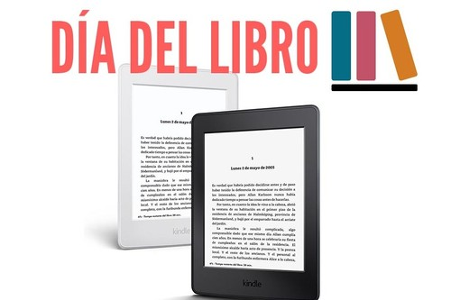 Día del libro: el Kindle Paperwhite tiene un descuento de 30 euros para celebrarlo