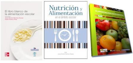 Libros nutrición escolar