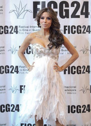 Eva Longoria en el Festival de Cine de Guadalajara