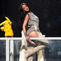 Rihanna no quiere que sus fans capturen Pokémon durante sus conciertos