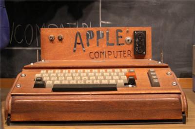 Un Apple I vendido por 671.400 dólares, récord en subastas de tecnología vintage