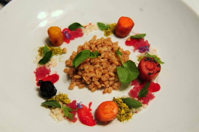 ensalada quinoa y vegetales