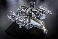 Este es el V8 del Mercedes-Benz AMG GT