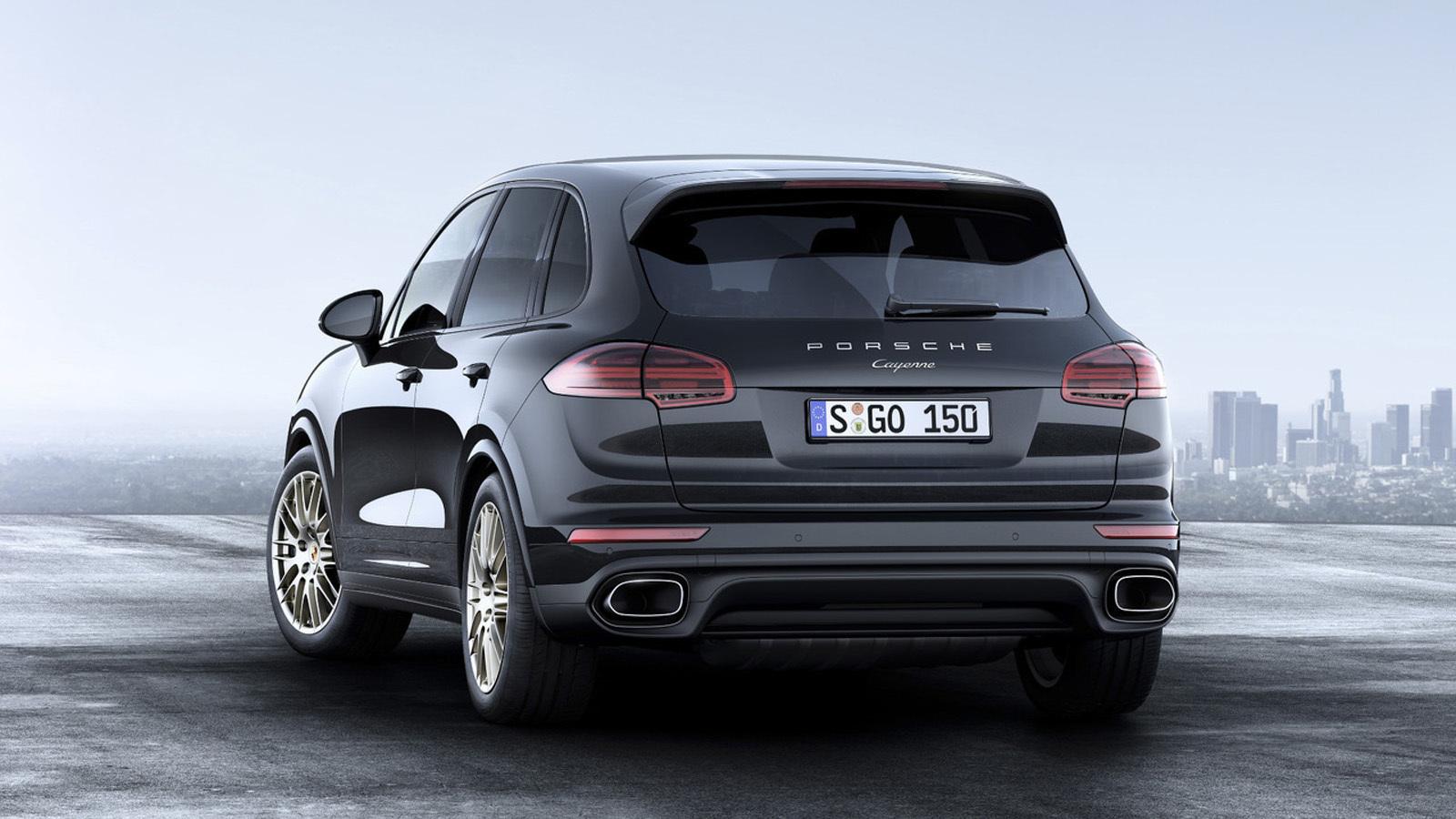 Foto de Porsche Cayenne Platinum Edition (5/6)
