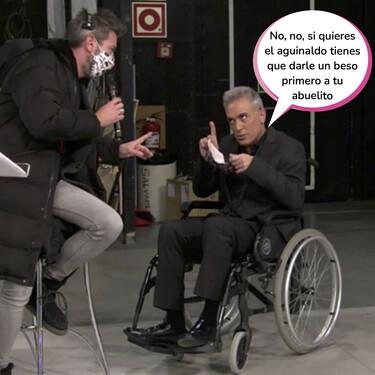 ¿Qué hace Kiko Hernández en silla de ruedas? Este es el motivo por el que ha acudido lisiado a 'Sálvame'