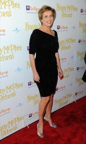 Emma Thompson premiere Nanny McPhee Returns